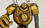 国服高端排位 卷毛微笑双排神钩机器人20投!