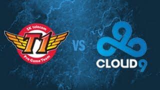 全明星战队邀请赛:Cloud 9 VS SKT T1 K