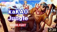 世界第一盲僧:KaKAO超神盲僧 干翻全场