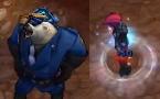 两款新皮肤展示:警长狗熊 偷盗者寡妇