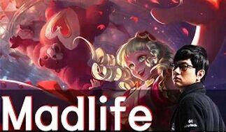 Madlife辅助安妮第一视角 精妙的完美辅助套路!