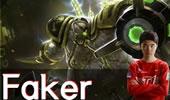 上分新套路:Faker螃蟹 攻防兼备站撸1V3