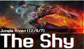 The shy上单瑞文第一视角 国服排位对线剑姬!