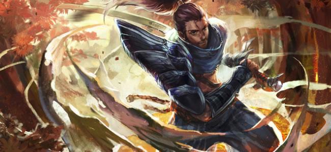 亚索   似乎沙皇被削弱了之后,中单英雄的最佳选择成为了亚