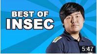 Insec在比赛中的精彩表现 振奋人心的操作!