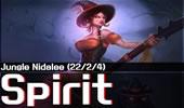 Spirit招牌豹女:22杀一人屠戮全场太血腥!