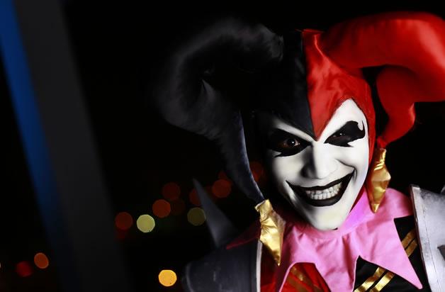 黑暗中的嗜血狂魔 恶魔小丑惊悚cos