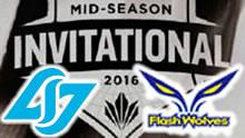 2016MSI季中赛半决赛:CLG vs FW