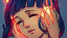音乐在脑袋里奔跑请戴耳机入场