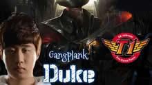 Duke上单船长:15杀0死 40分钟局完美发挥!