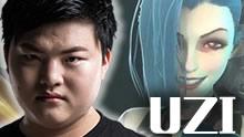 UZI与Mata下路组合 Carry全场爆炸输出22杀!