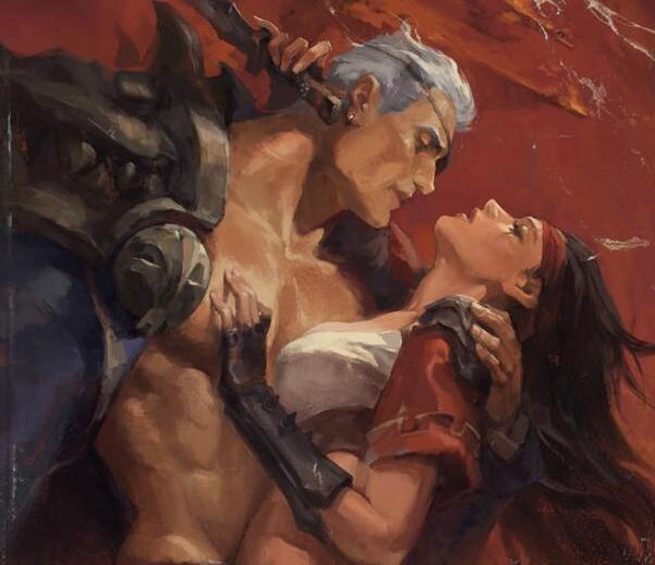 官方画师公布奥德赛皮肤细节:亚索在看德玛与卡特的爱情故事?