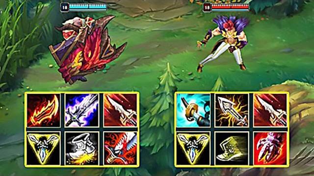 LOL:神装布隆vs神装腕豪,哪个英雄更强?