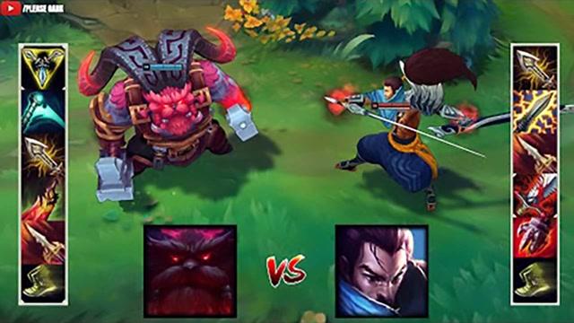 LOL:神装奥恩vs神装亚索,哪个英雄更强?