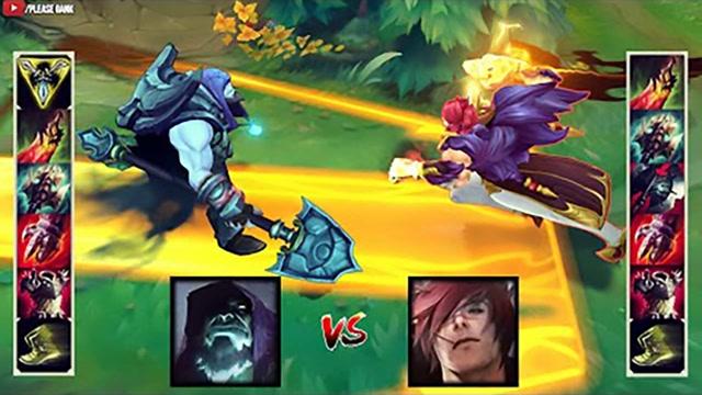 LOL:神装掘墓vs神装腕豪,哪个英雄更强?