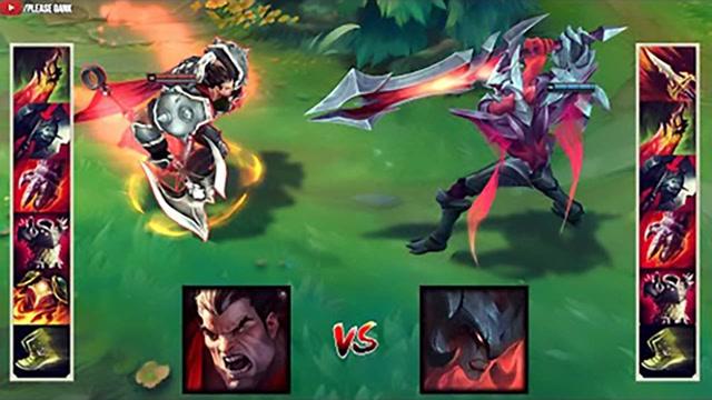 LOL:神装剑魔vs神装诺手,哪个英雄更强?