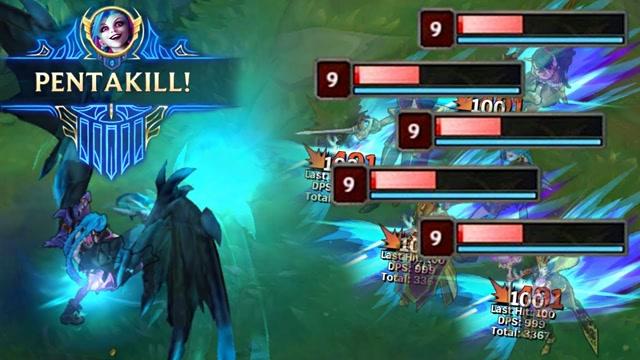 龙魂下的五杀集锦,果然意味着游戏要结束了