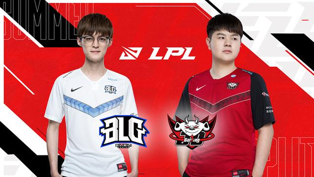 2020年LPL夏季赛常规赛 BLG vs JDG 第二场