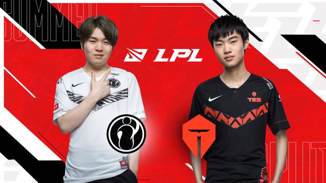 2020年LPL夏季赛常规赛 IG vs TES 第二场