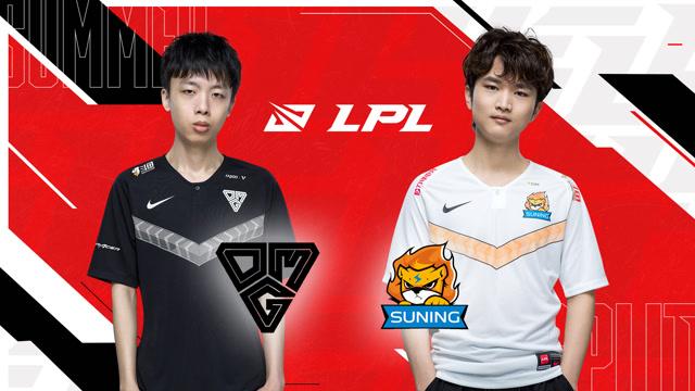 2020年LPL夏季赛常规赛 OMG vs SN 第一场