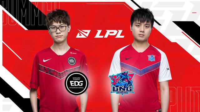 2020LPL夏季赛常规赛 EDG vs LNG 第二场