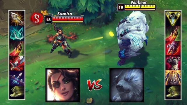 神装莎弥拉VS神装狗熊 哪个英雄更强?
