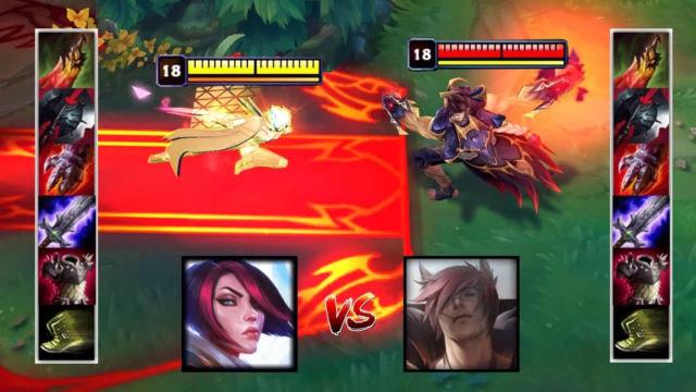 腕豪VS剑姬前中后期对比 哪个英雄更强?