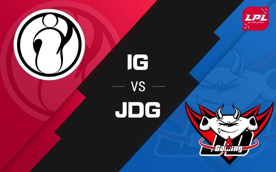 LPL夏季赛比赛视频W5D5 IG vs JDG 第1场