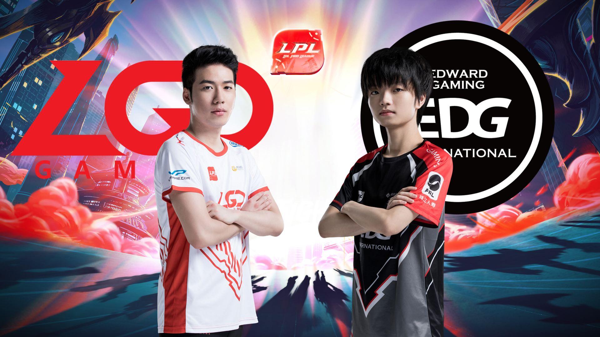 LPL夏季赛比赛视频W5D6 LGD vs EDG 第1场